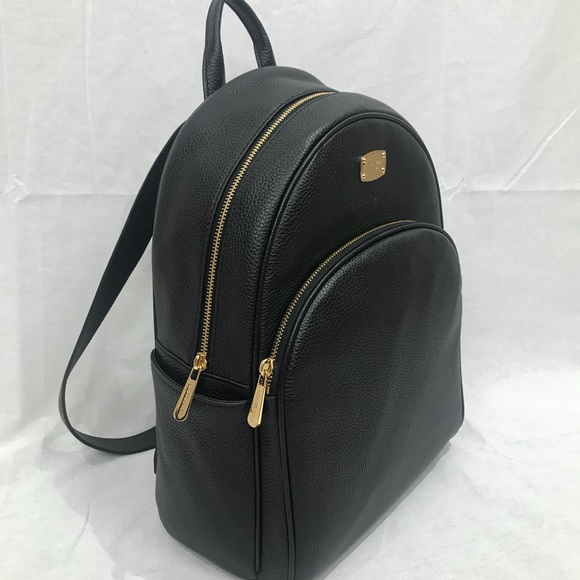 e43a4f4a2f4f Michael Kors Bags | Nwt Abbey Black Leather Backpack | Poshmark